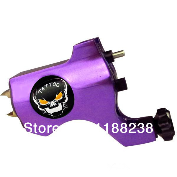 Professional Tattoo Trends Bishop Style Rotary Tattoo Machine Gun Tattoo Grip Purple for Liner & Shader Ghost Head lab dental equipment 2 5x420 red dentist dental surgical binocular loupes optical with portable led head light lamp