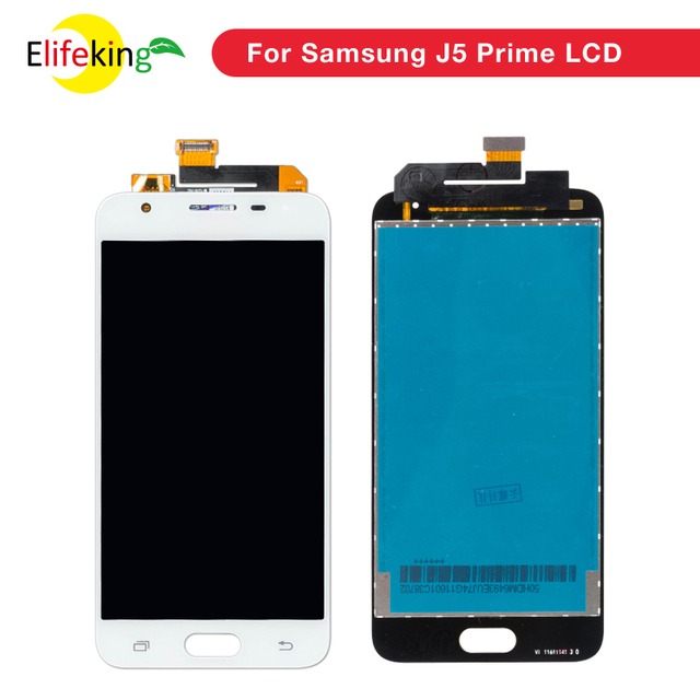 1PCS 5.0'' Original Display for SAMSUNG J5 Prime LCD Touch Screen with Frame for SAMSUNG Galaxy J5 Prime G570F G570 SM-G570