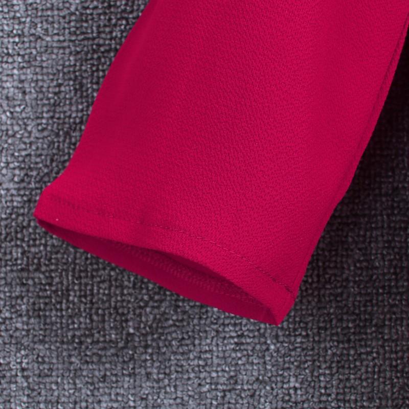 HTB1ujZJKpXXXXXzXpXXq6xXFXXX5 - Chiffon Blouse Shirts Women's Long Sleeve V-Neck