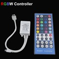 40key RGBW Controller with 40 Keys IR Remote control 5050 strips RGB white light, Input For SMD 5050 LED Strip Lights  DC12-24V
