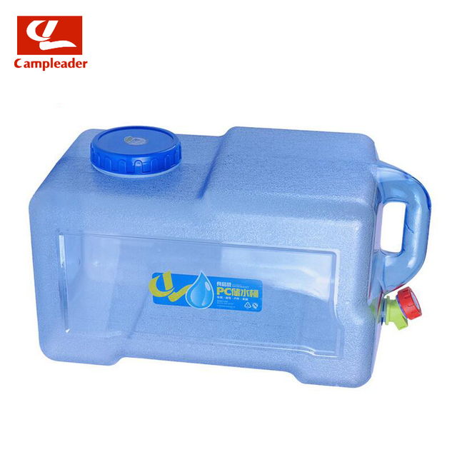 Campleader 12-18L PC Wine Water Bucket Outdoor Camping Car Durable Hiking Picnic Handy Collapsible Water Bottle Container CL179
