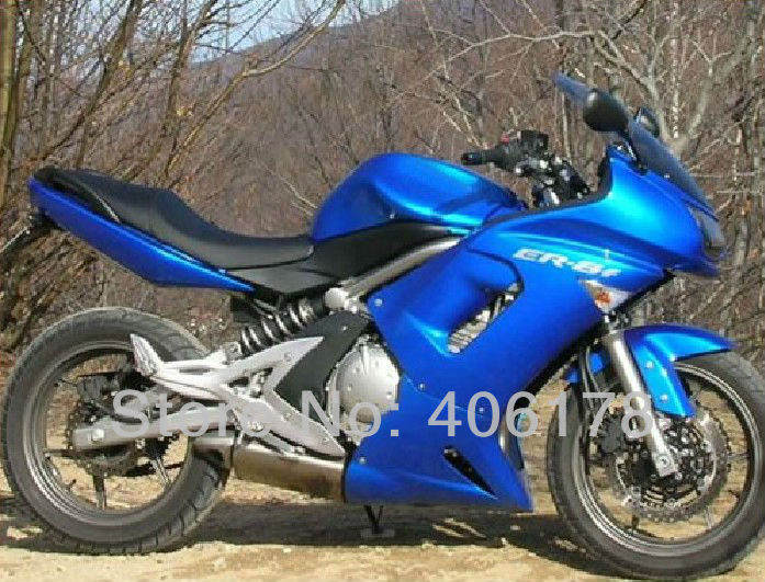 Hot Sales,Buy Motor Fairing 06 07 08 fairing kit For Kawasaki ER-6F 2006-2008 Full Blue Ninja 650 Motorcycle Bike Body kits