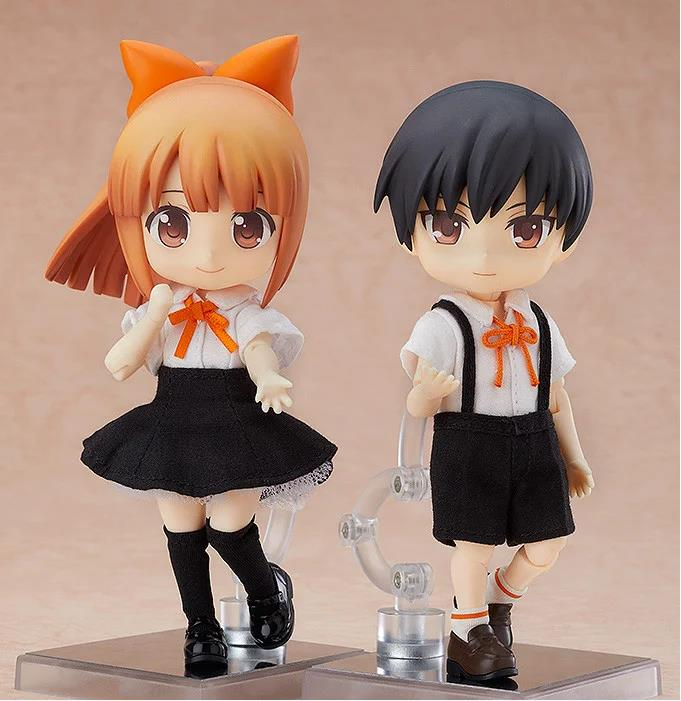 Japan GSC Nendoroid Child Doll Emily & Ryo Joint Movable Action Figure Collectible Model ToyJapan GSC Nendoroid Child Doll Emily & Ryo Joint Movable Action Figure Collectible Model Toy