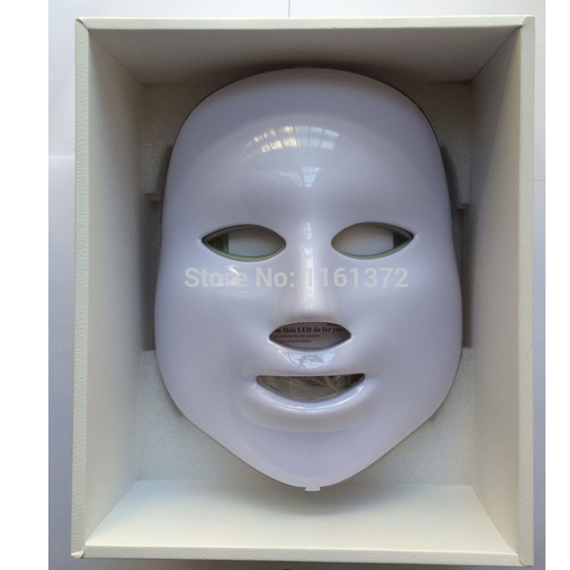 New LED Facial Mask Face Skin Care LED Photon Facial PDT Mask Three Colors op7 6av3 607 1jc20 0ax1 button mask