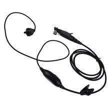 Для motorola radio gp328plus мультиконтактный наушник ptt mic