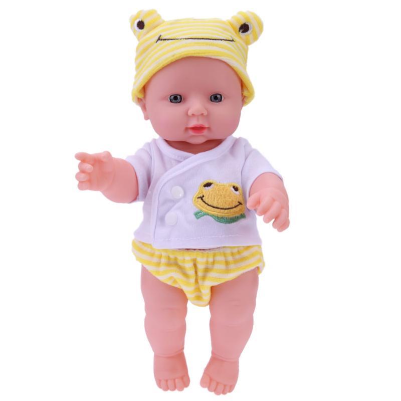 30cm Newborn Baby Stuffed Simulation Doll Soft Children Doll font b Toy b font Children s