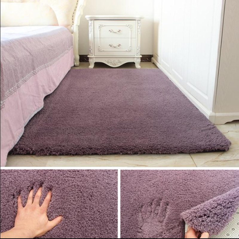 Soft Shaggy Carpet For Living Room European Home Warm Plush Floor Rugs fluffy Mats Kids Room Faux Fur Area Rug Living Room Mats
