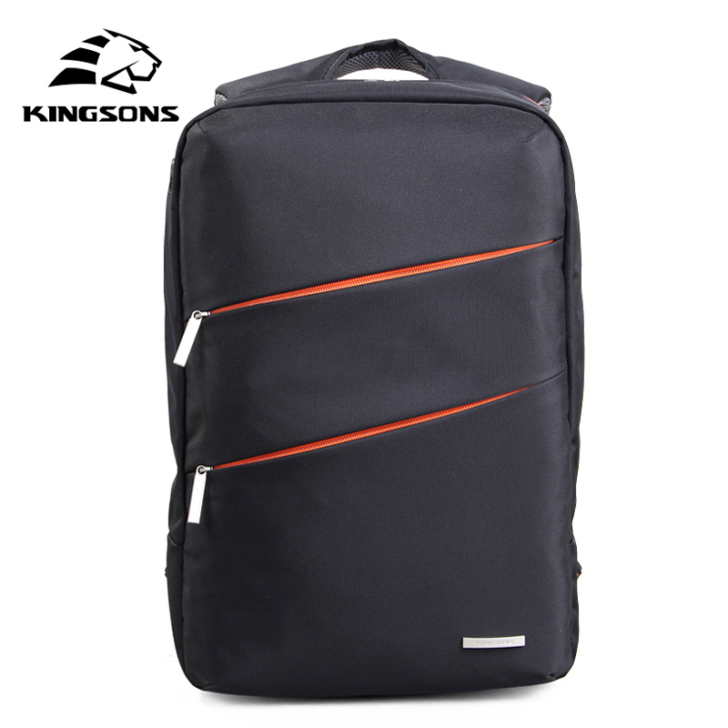 Kingsons Men Backpack 14 inch Note Bags Men bags Shoulder Bags Travel Packsack School Bag Backpacks Mochilas Femininas  KS3037W sosw fashion anime theme death note cosplay notebook new school large writing journal 20 5cm 14 5cm