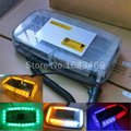 Carro lâmpada LED Car Telhado luz led Piscando Strobe luz de Emergência conduziu a Luz Nova 24LED DC 12 V