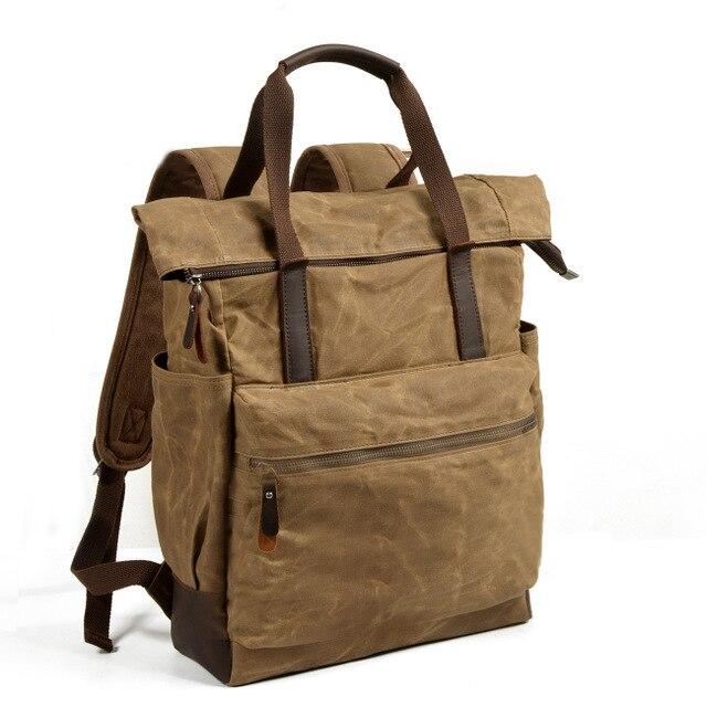 Gepäck & Taschen FäHig M180 Große Kapazität Rucksack Mann Reisetasche Bergsteigen Rucksack Männlichen Gepäck Wasserdichte Leinwand Schulter Taschen Männer Rucksäcke