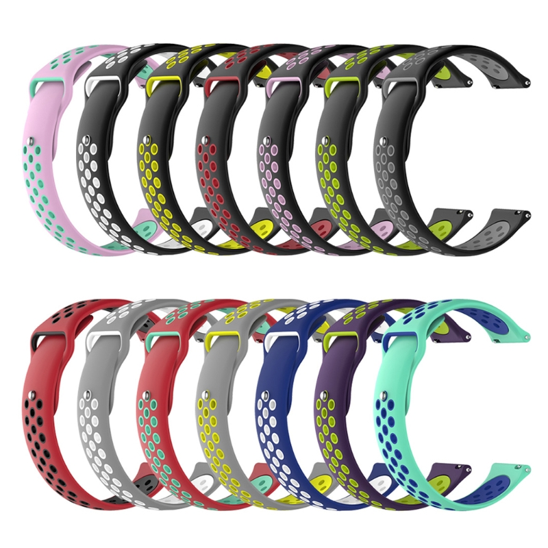 все цены на 18mm Silicone Watch Band Wrist Strap For Withings Steel 36mm Huawei Watch 1st S1 онлайн