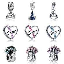 DIY  bracelet beads mary poppins bijoux en argent 925 jewelry joyas de plata witchcraft sieraden jewellery charms цена
