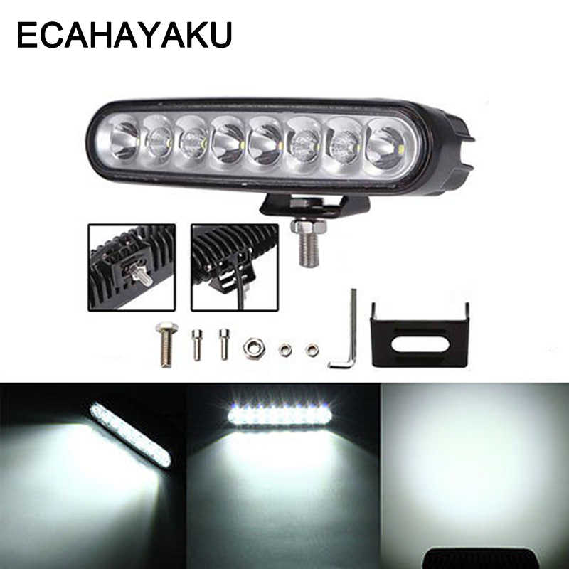 40W LED Work Light Bar Combo 6'' DRL Offroad Car ATV 4WD Wagon Pickup Bus 4X4 Motorcycle Boat Camper AWD Truck Driving Headlight