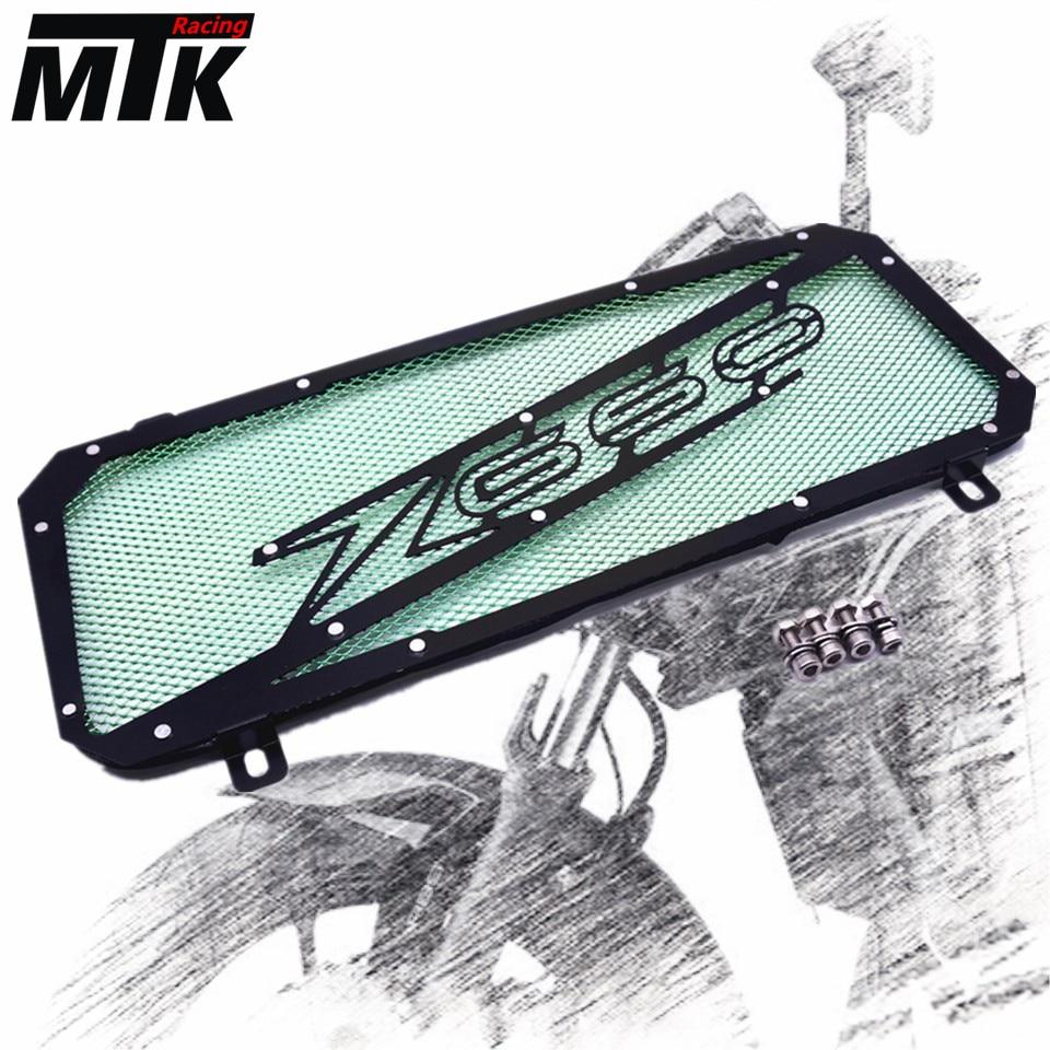 MTKRACING For KAWASAKI Z650 2017 Motorcycle Radiator Grille Guard Cover Protectornk Z 650 motorcycle radiator grille grill guard cover protector golden for kawasaki zx6r 2009 2010 2011 2012 2013 2014 2015