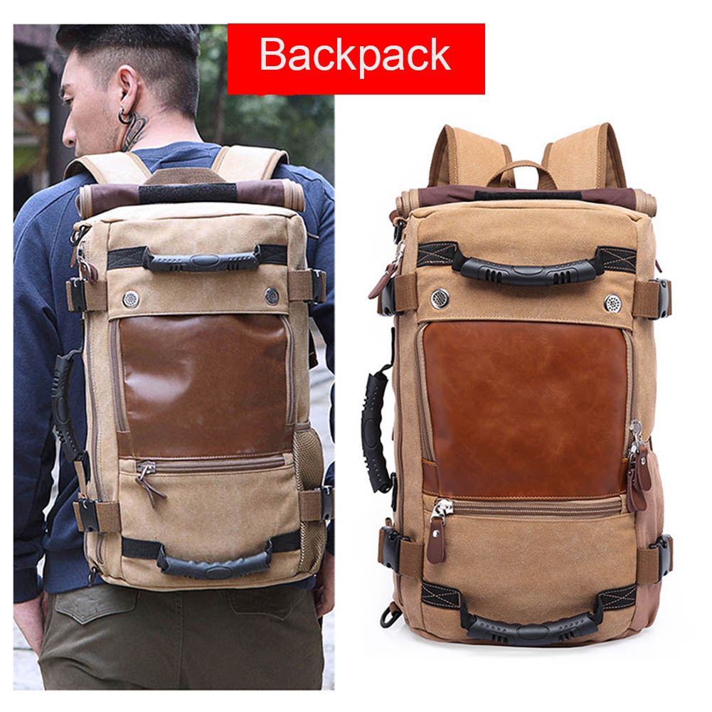 Ship From RU Stylish Travel Large Capacity Backpack Male Luggage Computer Backpacking Functional Versatile Bags LBY2018