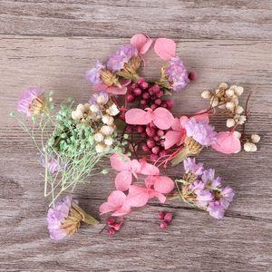 1 Box Dried Flowers Nail Decor