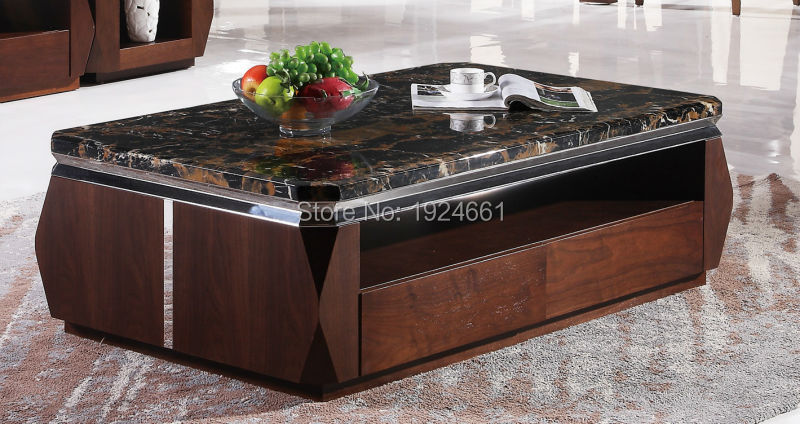2016 Modern Muebles Cam Sehpalar Coffee Table Iron Side Hot Sale Mirrored Furniture Mesas Wooden With Desktop New Model Tea 371 In Coffee Tables From
