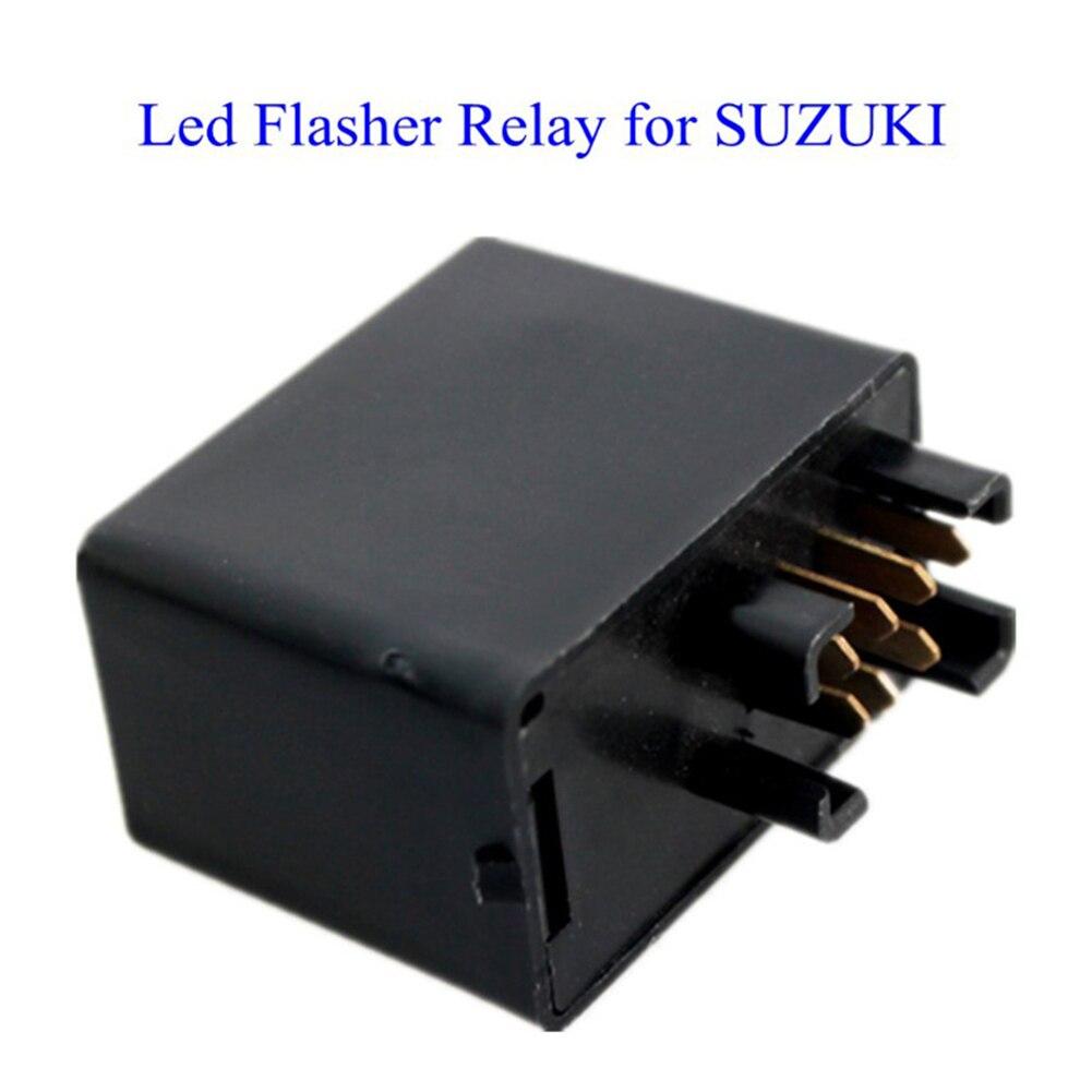 7-контактный 12V светодиодные Flasher реле авто стробоскоп мотоцикл декодер для Сузуки СВ650 SV650S SV1000 SV1000S