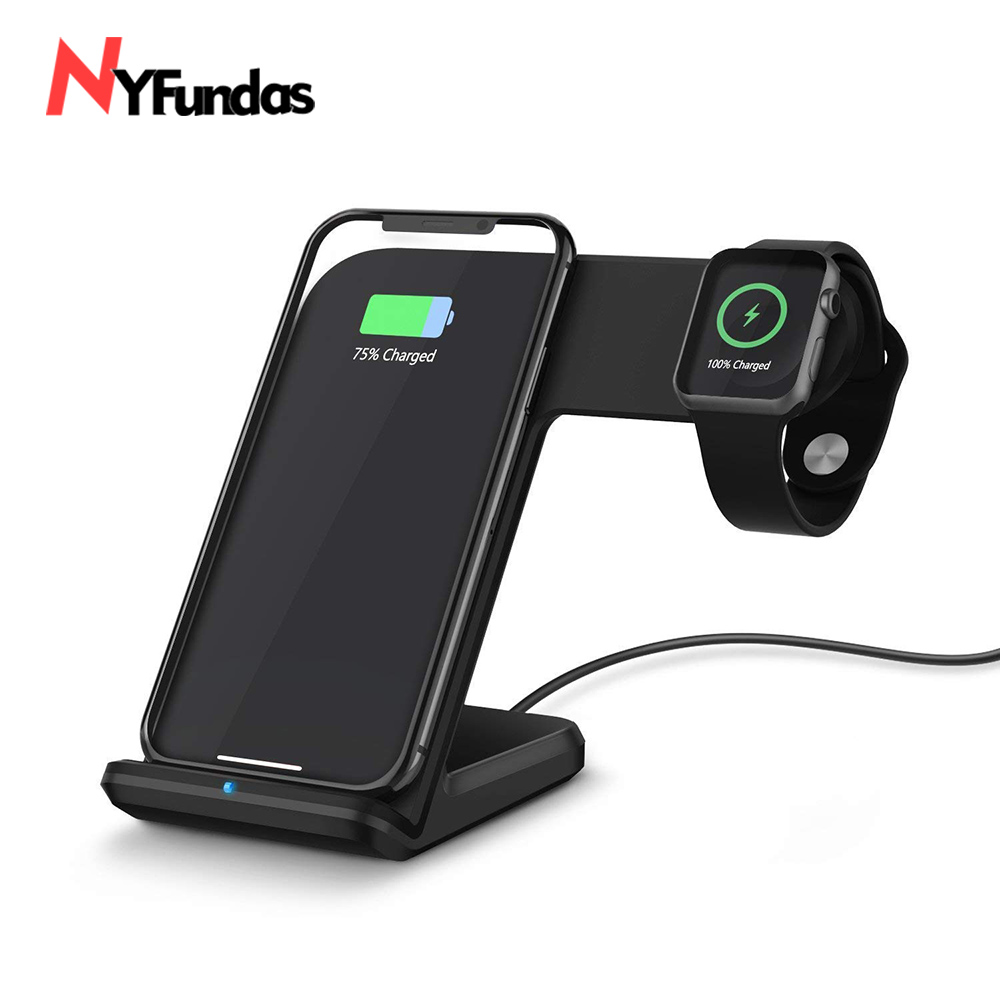 NYFundas Wireless Charger phone holder for Apple Watch 2 3