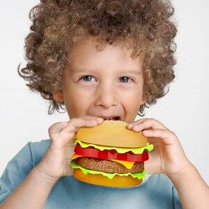 Image 5 - ילדי סימולציה מזון המבורגר נקניקיות מטבח צעצוע להגדיר להעמיד פנים לשחק חטיף מיניאטורי בורגר חינוכיים צעצועי ילדה ילד