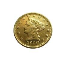 Дата 1898 1899 1900 1901 1902 1903 1904 1905 США$2,5 позолоченный(старинная Золотая монета в 2,5 доллара) золотые в виде копия монет