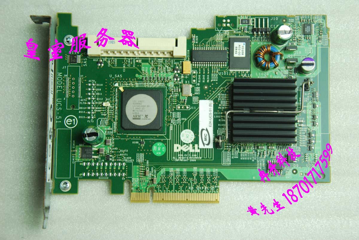 FOR DELL  PE2950 PE1950  5IR SAS array cards UCS-51 my412 HN359 лопата truper pcl pe 31174