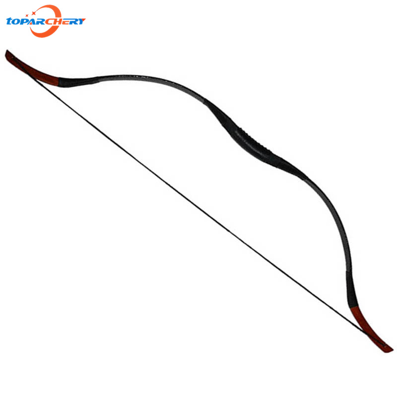 Archery Bow Arrows Traditional Recurve Bow 35lbs 40lbs for Hunting Shooting Training Practice Sport Sling Shot Wooden Longbow 35lbs long bow archery hunting black color for adults archery game traditional wooden made hunting bow 1pc