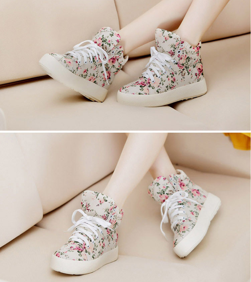 Summer Sport Casual Shoes 2018 New Women Fashion Print Canvas Shoes female Footwear Leisure Women Vulcanize Shoes CLD903 (10)