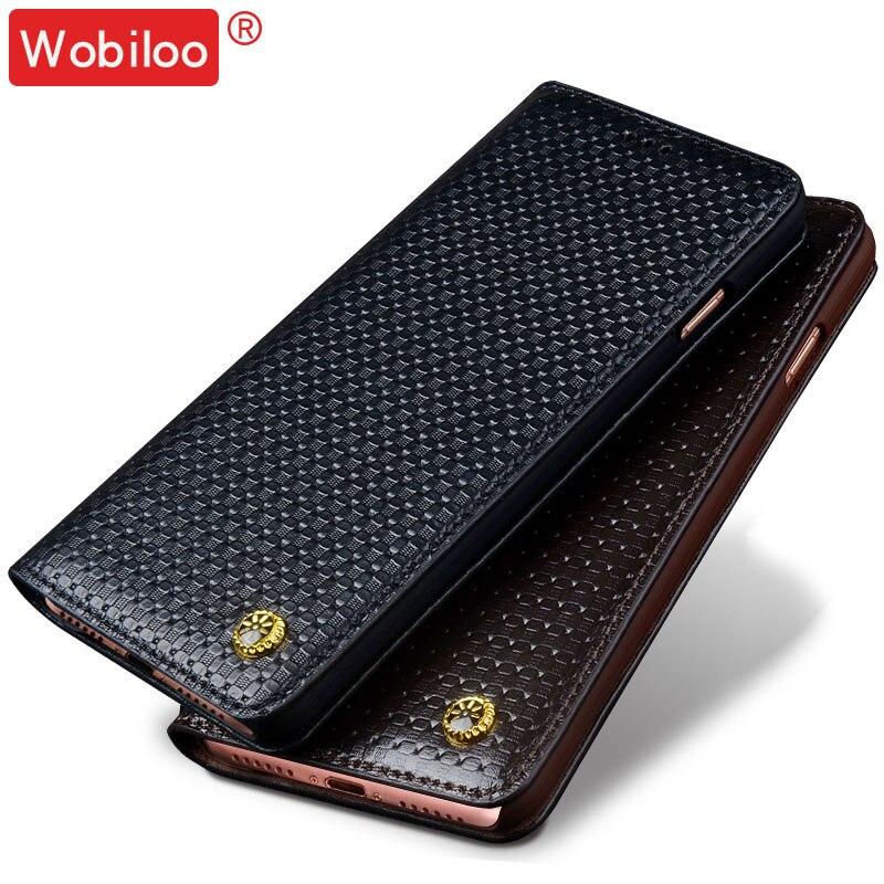 """bilder für Wobiloo für Xiaomi Redmi 4 5,0 """"fall hochwertige flip Echtes 3D texturen telefon fall-abdeckung für Xiaomi Redmi 4 pro 5,0"""""""