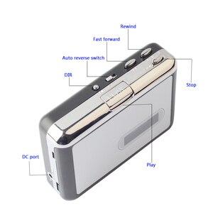 Image 4 - Draagbare Cassette Speler Recorder Standalone Audio Muziek Recorder Cassette Naar MP3 Converter Bespaar In Usb Flash Drive