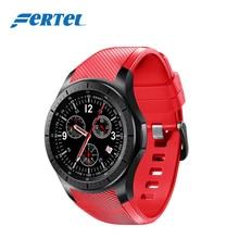 FERTEL Android font b Smart b font Watch 3G DM368 WristWatch1 39 AMOLED Quad Core Bluetooth