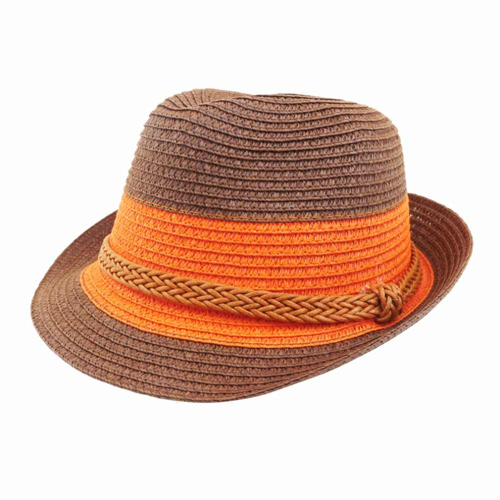 ... 2018 new Summer small fedoras women s sun-shading sunscreen sun hat  fashion straw hat beach ... 951ef36938d9