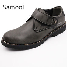 2017 Autumn Fashion Style font b Oxfords b font Shoes High Quality Genuine Leather Slip On