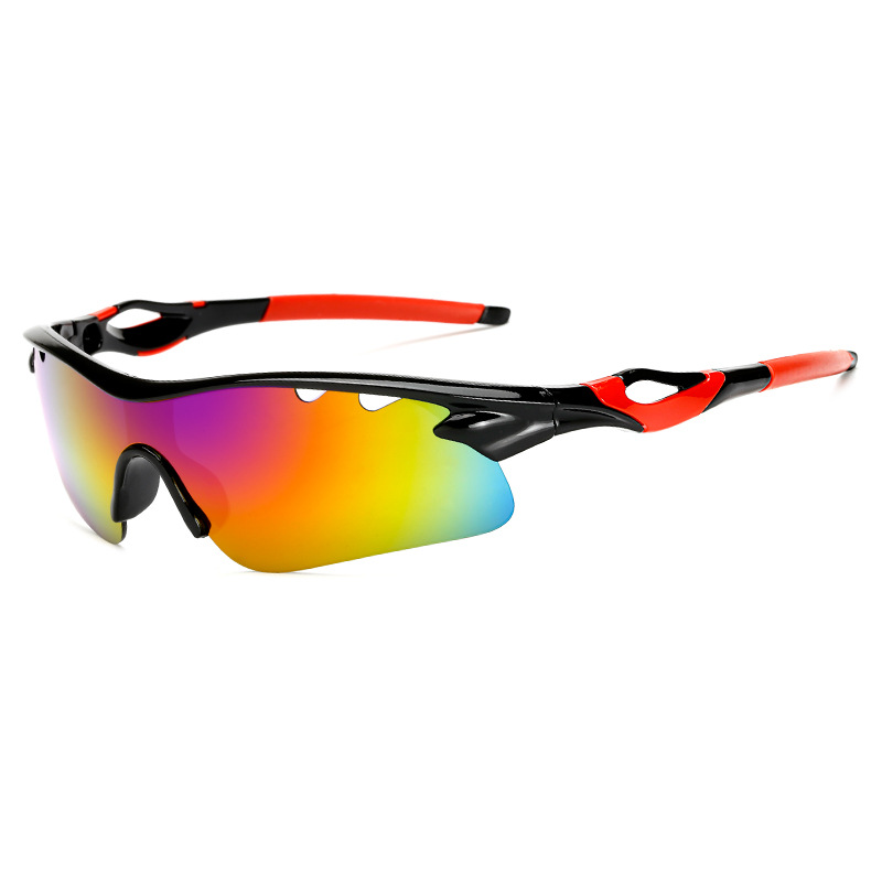 Robesbon Cycling Glasses 154mm 40mm Outdoors Goggles Riding Eyewear UV400 Explosion Proof Sport Night Vision Mirror