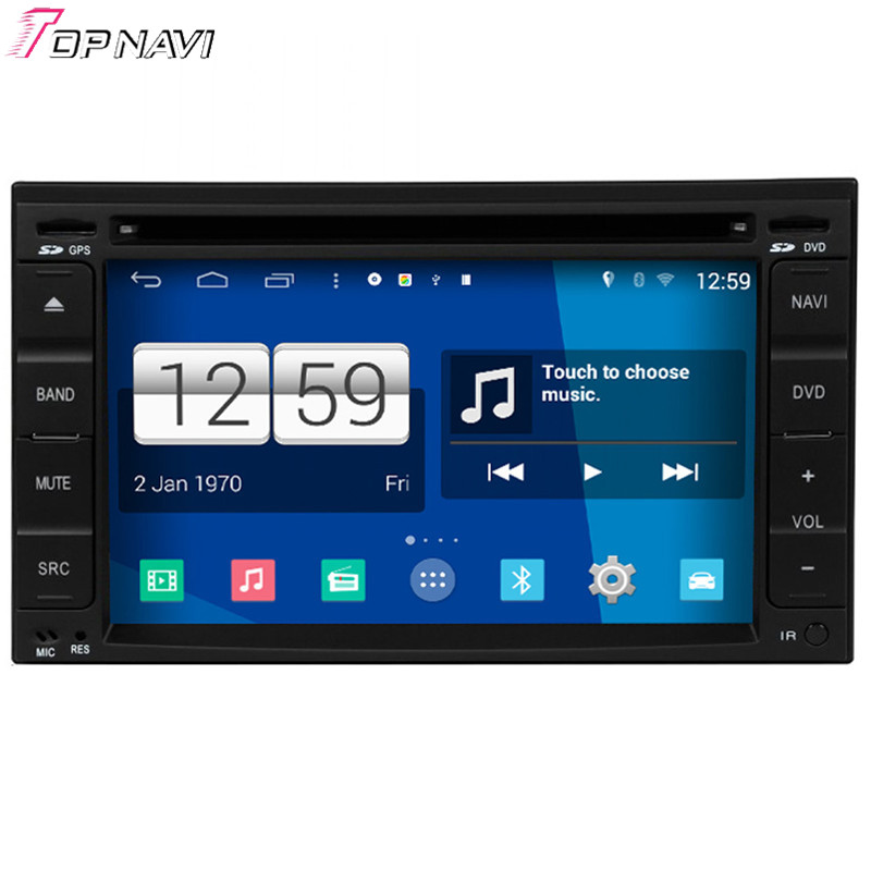 Topnavi Quad Core S160 Android 4 4 Car DVD Multimedia Player for Nissan Universal Old Audio