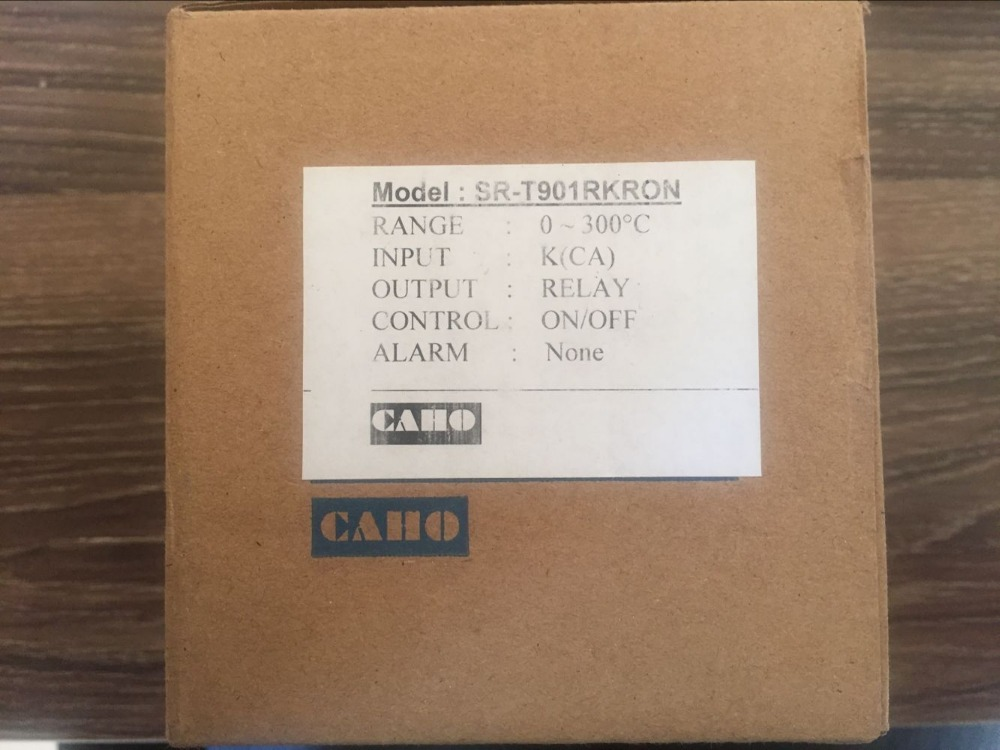 Genuine CAHO Taiwan Xuan Rong oven temperature control SR-T901 car oven temperature control SR T901 genuine taiwan research anv time relay ah2 yb ac220v