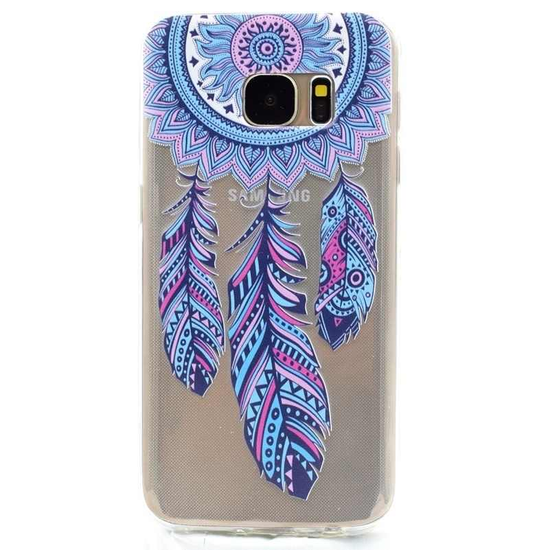 Ultra Thin Soft Silicone Case For Samsung Galaxy J3 J5 J7 A3 A5 A7 2016 2017 J2 Pro Prime 2018 G360 Flower Marble Pattern Covers