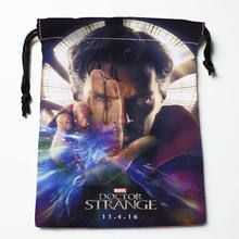 High quality Custom Doctor Strange printing storage bag drawstring bag gift Satin bags 27x35cm Compression Type Bags
