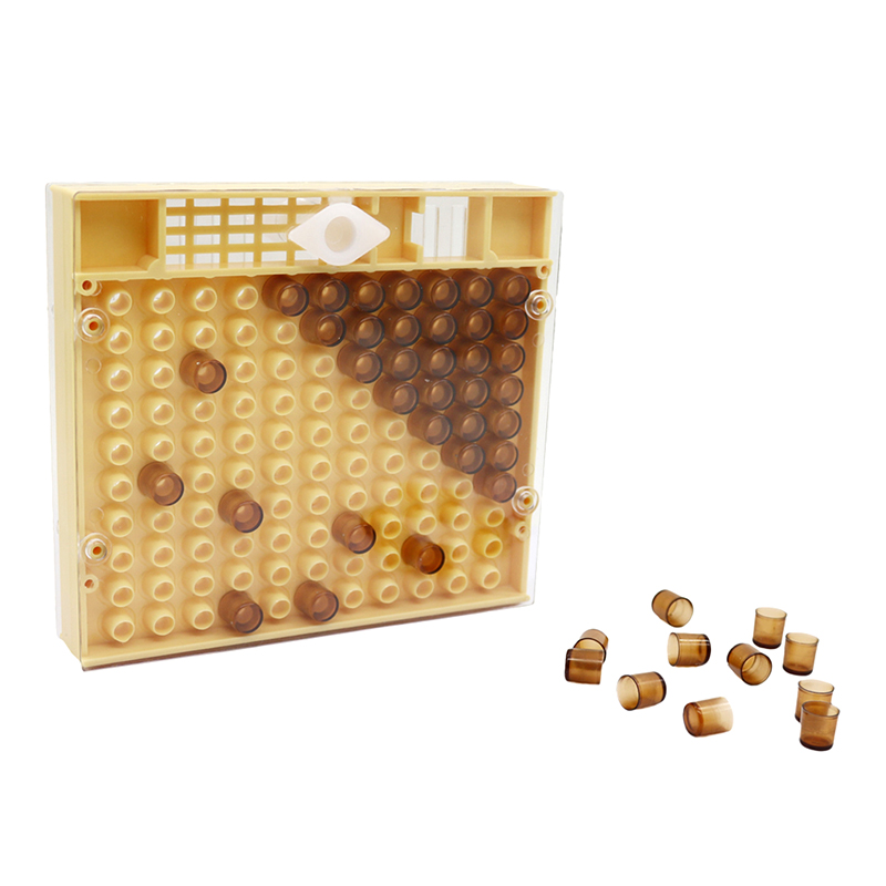120 Brown Cell Cups Set For Queen Rearing System Honey Bee Beekeeping Supplies