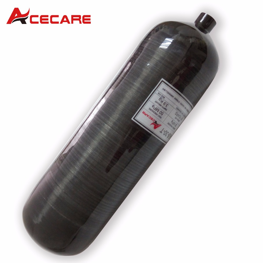 AC3680 6.8L 4500psi Diving Balloon Paintball Equipment Hpa Air Tank M18*1.5 Thread Airsoft Cylinder For  Rifle Compressed Air