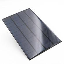 Panneau solaire 12V 4.2W Standard époxy polycristallin 12V DC 4.2WATT 0.35A silicium bricolage batterie Module de Charge Mini cellule solaire