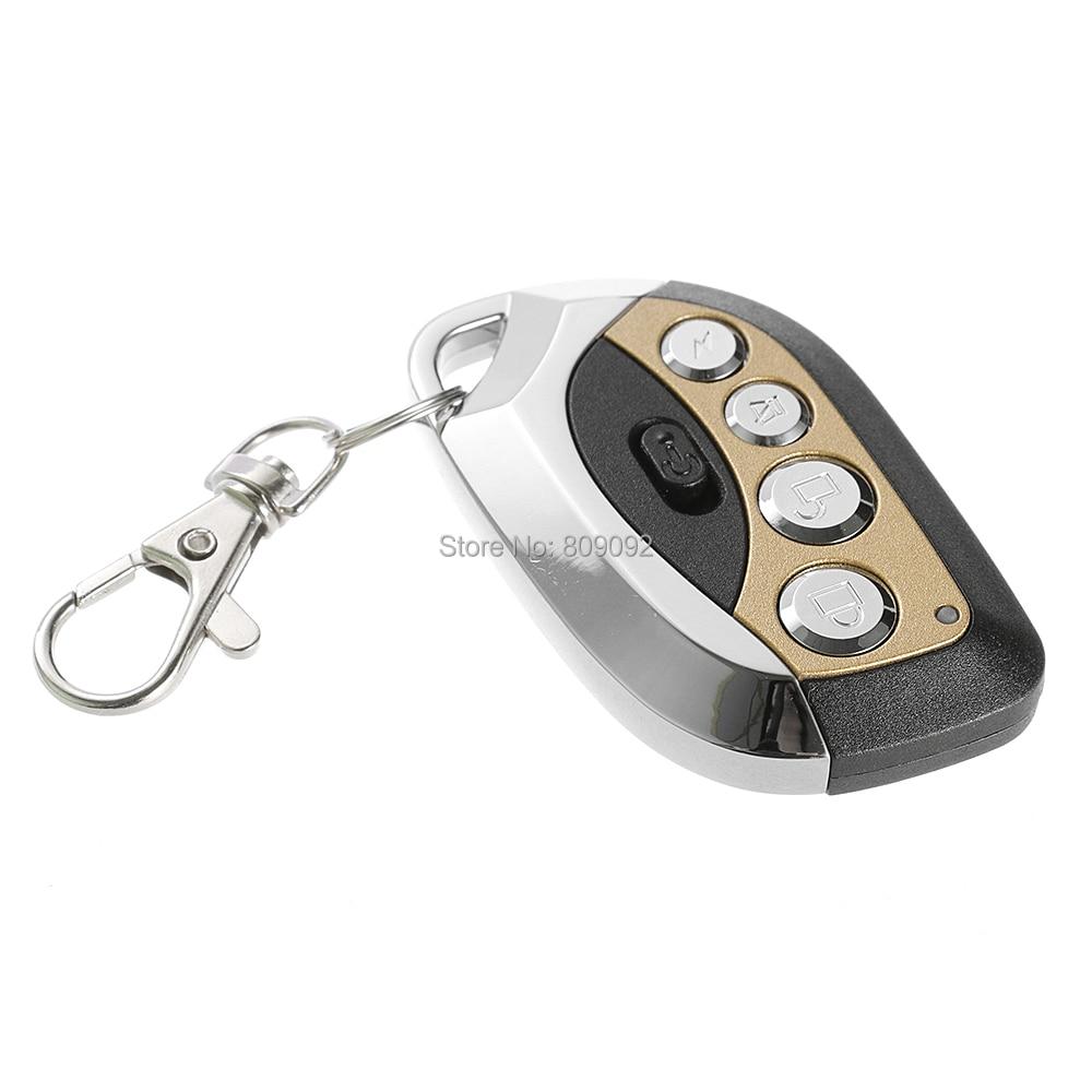 Universal 433MHZ RF Auto Remote Control Duplicator Clone Code Scanner Motorcycles Garage Gate Transmitter universal wireless rf remote control learning copy clone code remote control duplicator key 433mhz for garage gate door