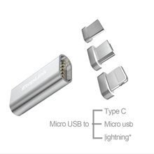 Mirco USB Type C Connector Magnet Adapter Micro USB to Type-C Micro USB Charger Cable Magnetic Adapter for Mobile Phones