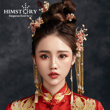 Hair-Stick-Accessory Hairpin HIMSTORY Photography Traditional Chinese Bride-Headdress