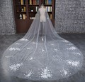 Free Shipping In Stock Long One Layer White Bridal Veils Cut Edge Wedding Veils Bridal Accessory