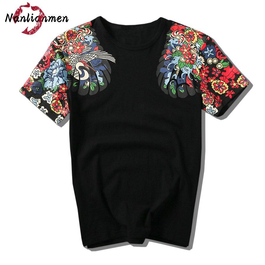 2017 Limited Summer New Japanese T Shirt Men O Neck Short