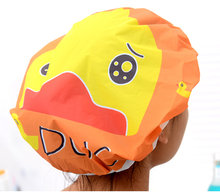 12 шт/лот милая мультяшная душевая шапка водонепроницаемые кружевные