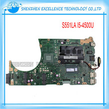 S551LA for ASUS Laptop Motherboard Intel I5-4200U 4G RAM Fully Tested and Free Shipping