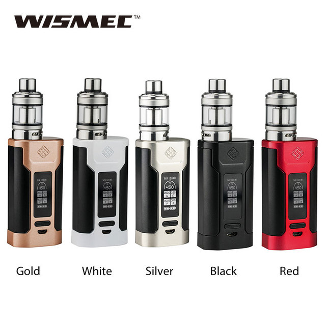 Original WISMEC Predator 228 for Elabo Vaping Kit Elabo Tank 4.9ml Atomizer 228W TC MOD E-cigarette No Battery Vs wismec rx300