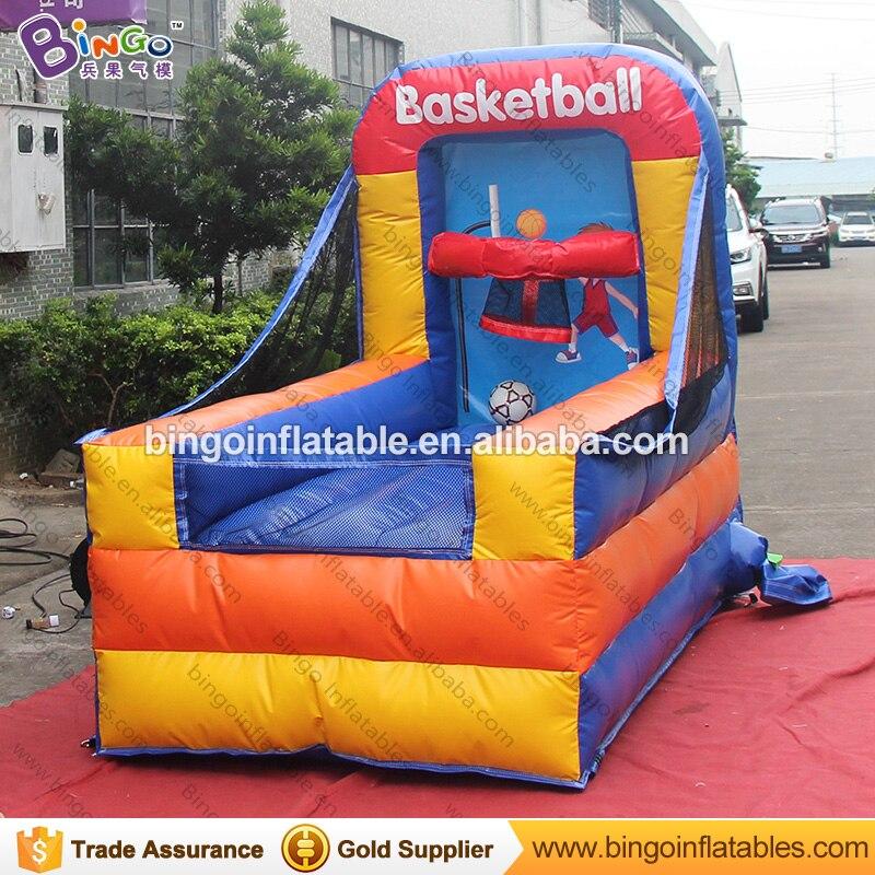 Fabriek te koop 1.3x2.5x2 meter opblaasbare mini draagbare basketbal game speelgoed - 2